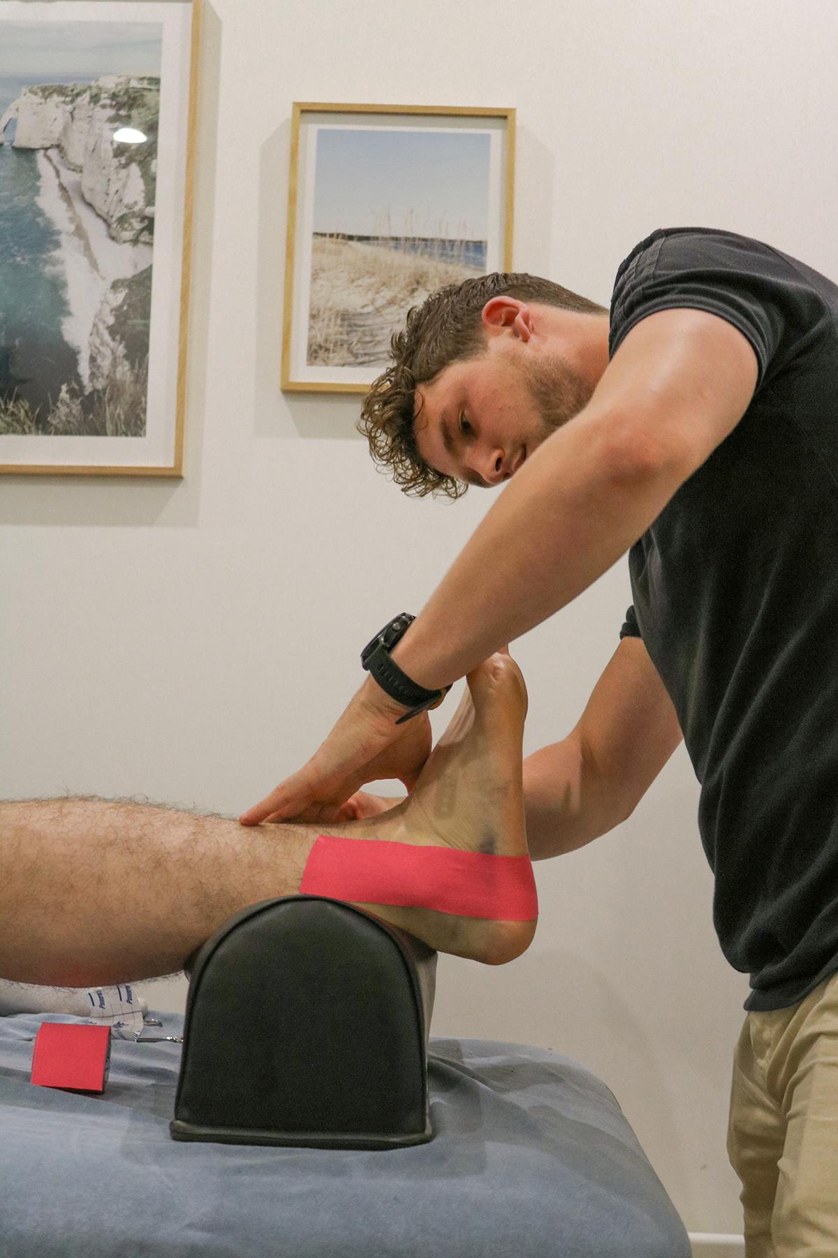 enkel voet klachten fysio sint michielsgestel